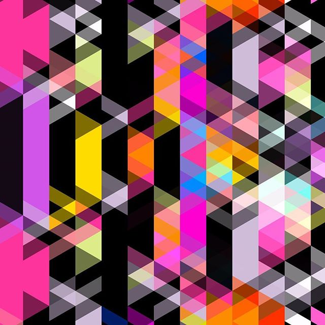 #isometric #color #triangle #art #abstractart #aesthetic