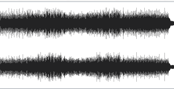Notice how in this version, we now have many peaks and valleys with defined dynamic shifts. The choruses for example get louder and sound bigger than the verses. We also have plenty of room for the mastering stage, which means we can sweeten the track and get a descent final audio level.