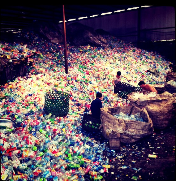 Mountain of Plastic