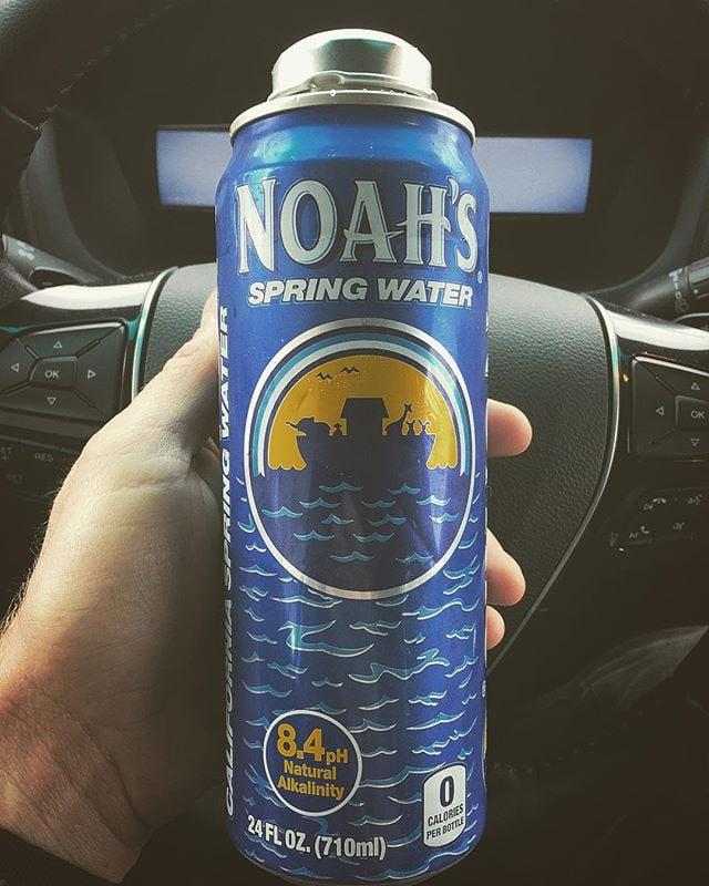 "The Monster Energy of water. ""This tastes good."" - Vern Moen  #materialofthefuture #plastic #notplastic"
