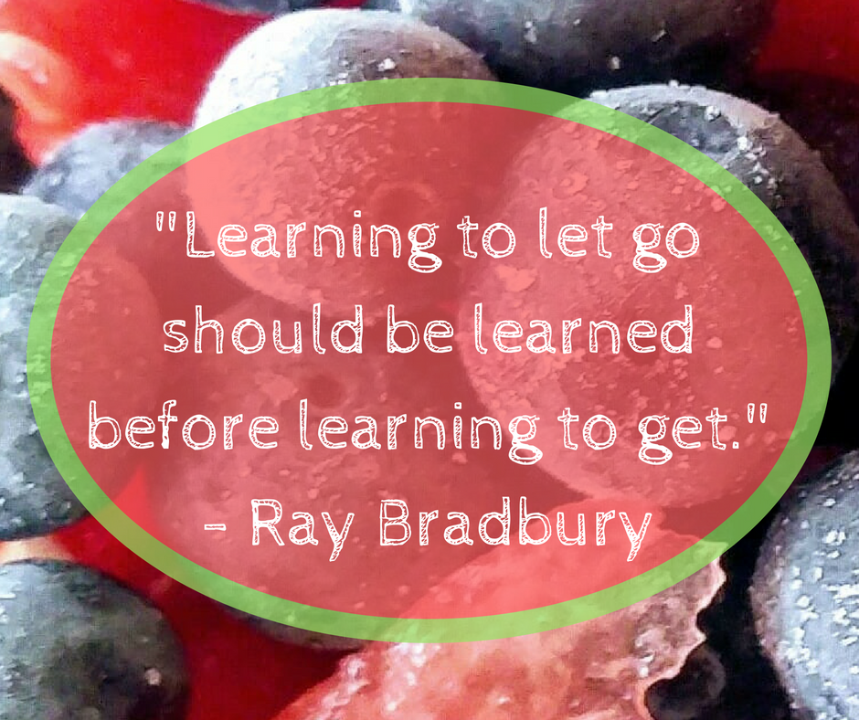 Learning to let go, Ray Bradbury.png