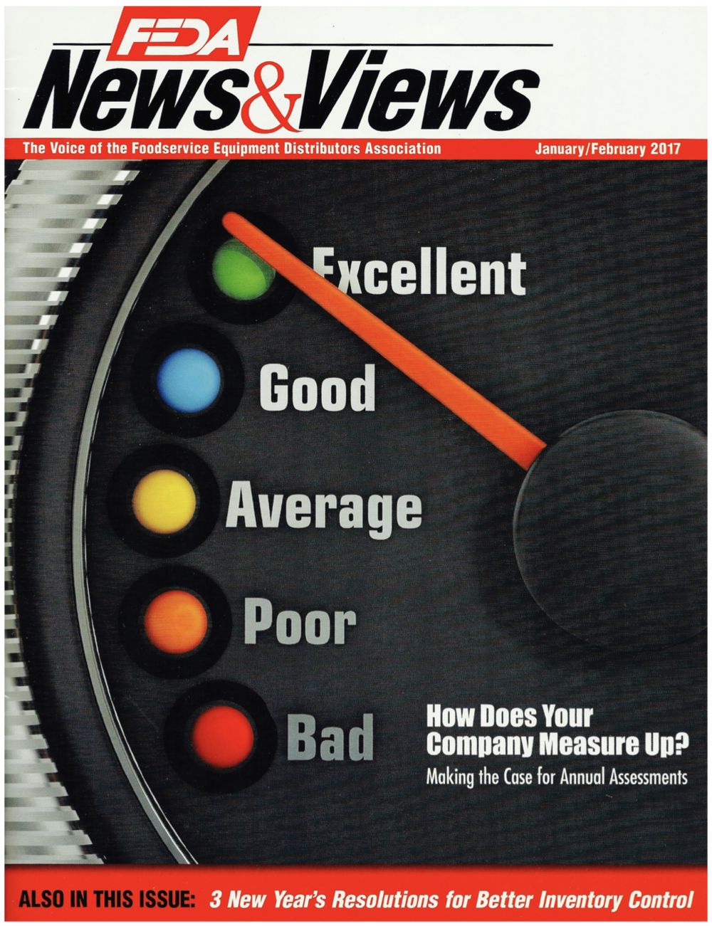 Read our cover story interview in the Industry Leading Foodservice Equipment Distributors Association Magazine. -
