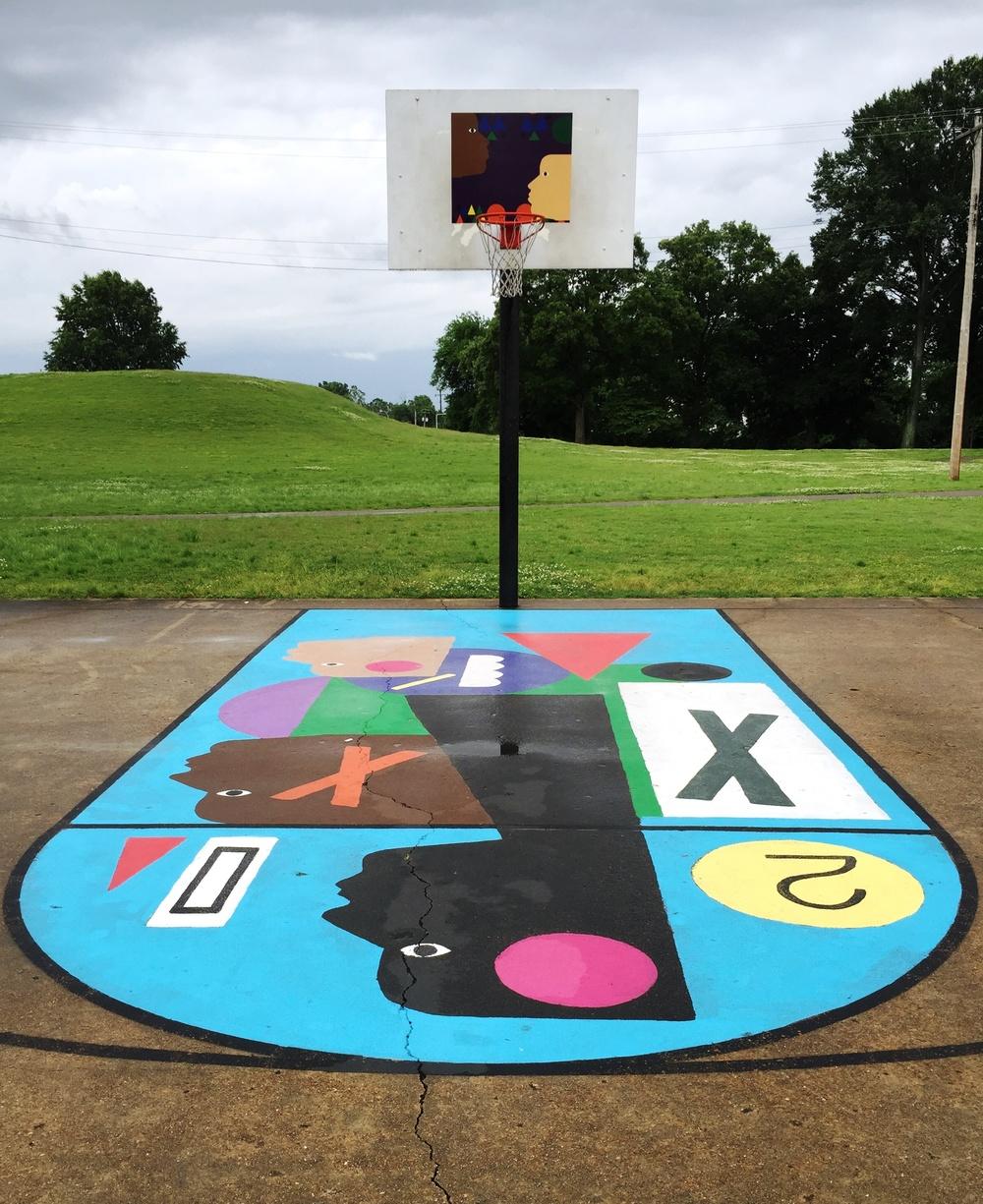 Chickasaw Park, South Goal