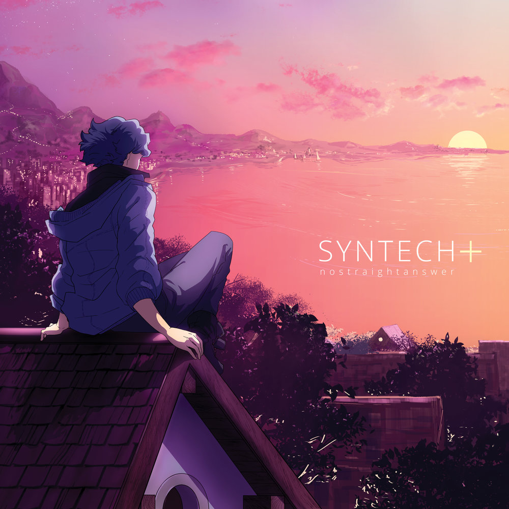 Prelude to Dusk - SYNTECH+ is the VOCALOID side of the SYNTECH project. It primarily features the voices of DEX and DAINA, both English VOCALOID libraries, the former of which synthesized from nostraightanswer's own voice. Additional vocalists include Hatsune Miku, MAIKA, AVANNA, and nostraightanswer himself.