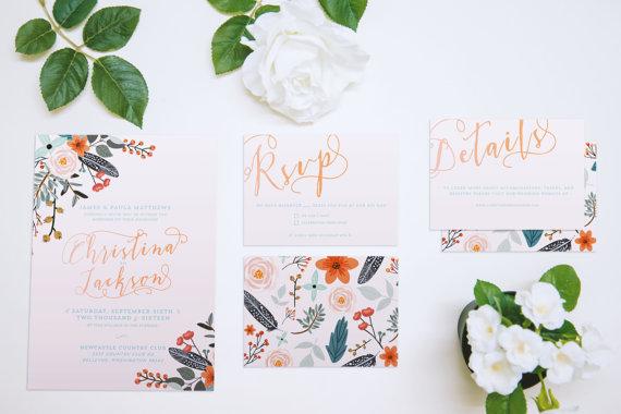 WEDDING |Rustic Floral Suite