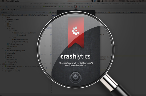 Crashlytics for Android Studio