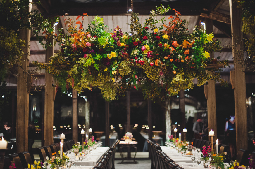 Hanging flowers at Stones of the Yarra Valley.JPG