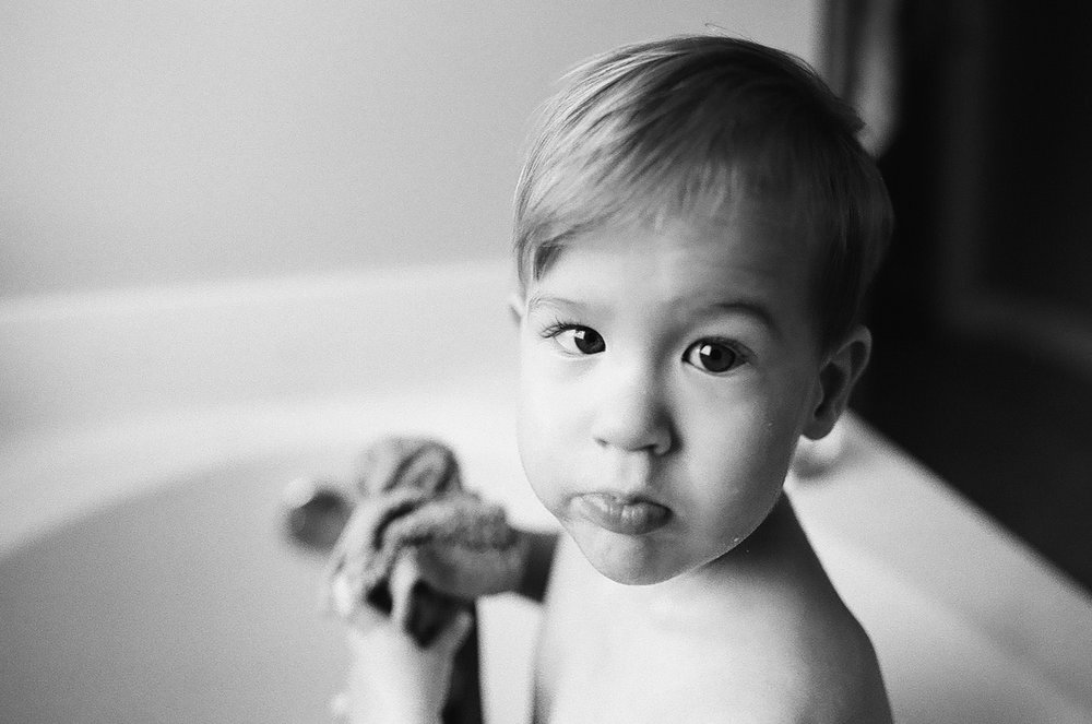 bathtime. shot on tri-x 400.