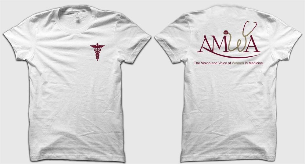 Completed FSU AMWA 2014 – 2015 Member Shirt