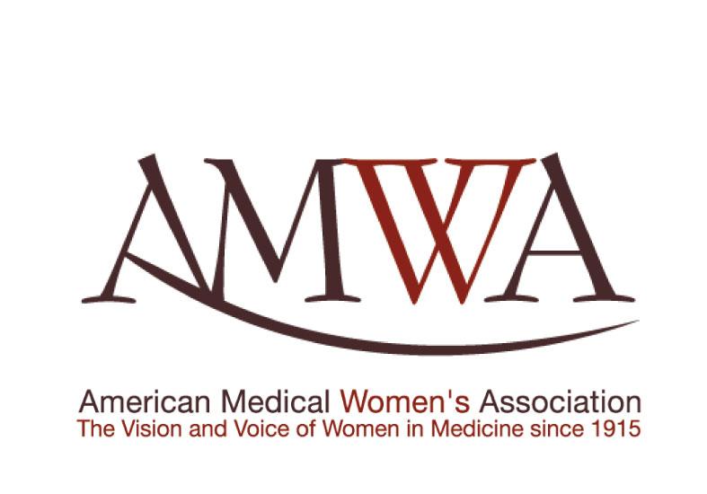 BEFORE: The organization-wide AMWA logo