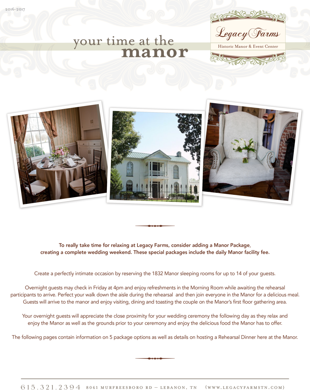 Nashville Mansion Weddings