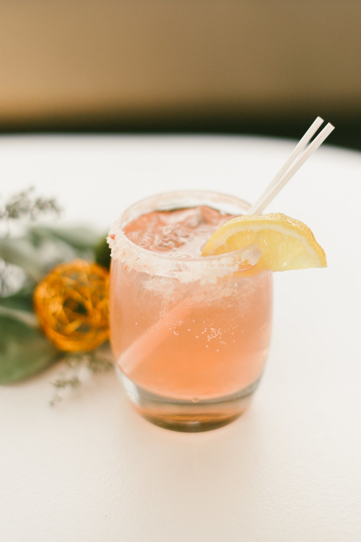 Pink Champagne Margarita