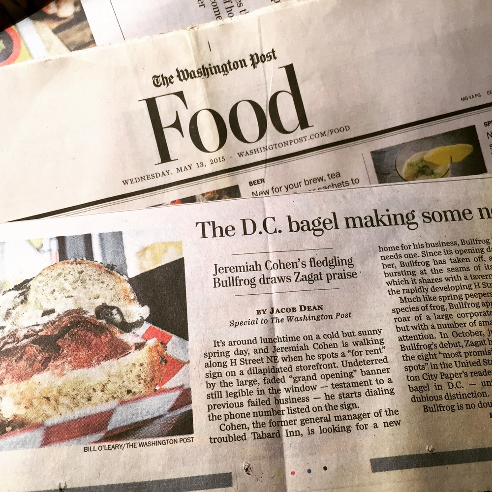 How an upstart baker helped bring respect to D.C.'s bagel scene    Special for The Washington Post. Photo by Jacob Dean.