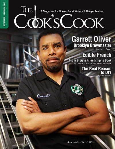 Garrett Oliver: Brooklyn Brewmaster    For The Cook's Cook Magazine. Photo courtesy of Brooklyn Brewery.