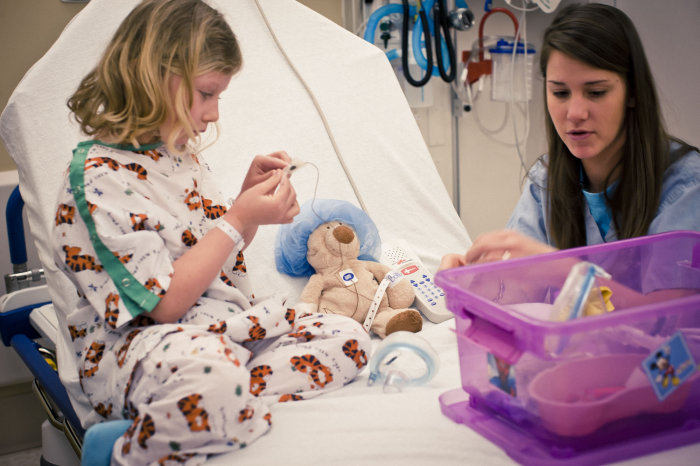 'Medical play'    Source:  Akron Children's