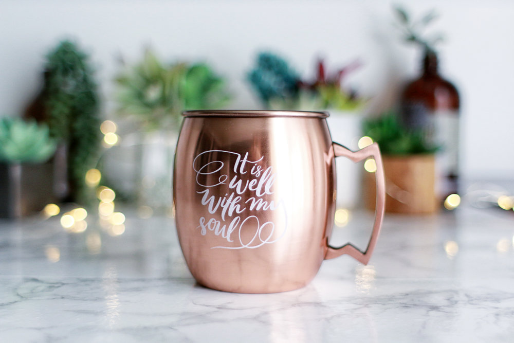 it is well moscow mule mug - Mule Mug