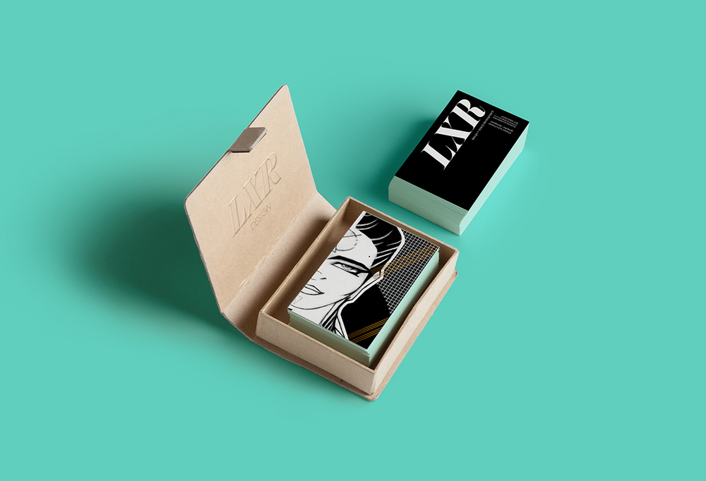 LXR Business Cards Spring 2014 — :: LXR Design Studio ::