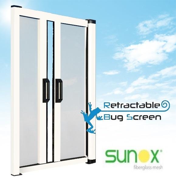 Retractable Bug Screen for Patio Doors  sc 1 st  Retractable Bug Screen & Retractable Bug Screen for Patio Doors u2014 Retractable Bug Screen