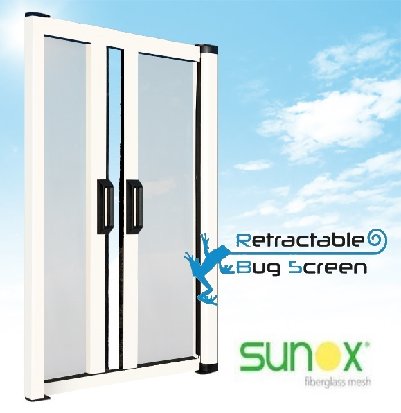 Retractable Bug Screen For Patio Doors Retractable Bug Screen