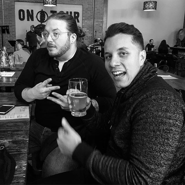 Happy Monday folks. It's gonna be a stellar week. Promise. . . . . . . . #band #rockband #rocknroll #chicago #chicagobands #chicagomusic #chicagorock #indie #dancerock #indierock #blackandwhite #ontourbrewery #ontour #brewery #beer