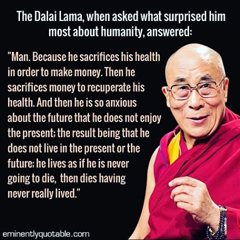 #MondayMotivation from His Holiness the 14th Dalai Lama 🙏🌍✨