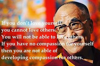 #WednesdayWisdom from the @DalaiLama ❤ #compassion #love
