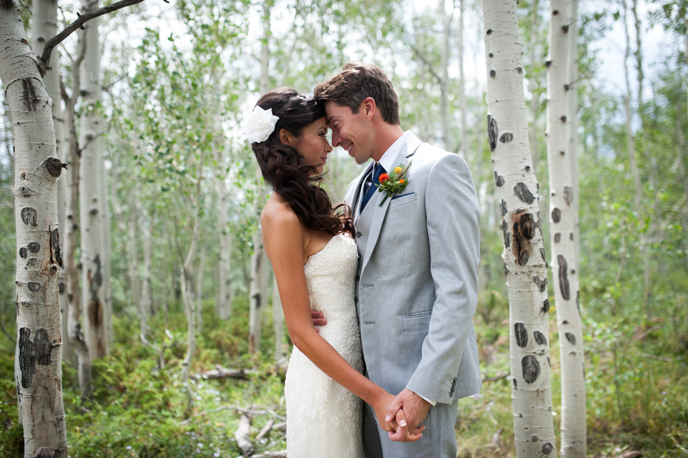 Granby Ranch Colorado Mountain top Wedding