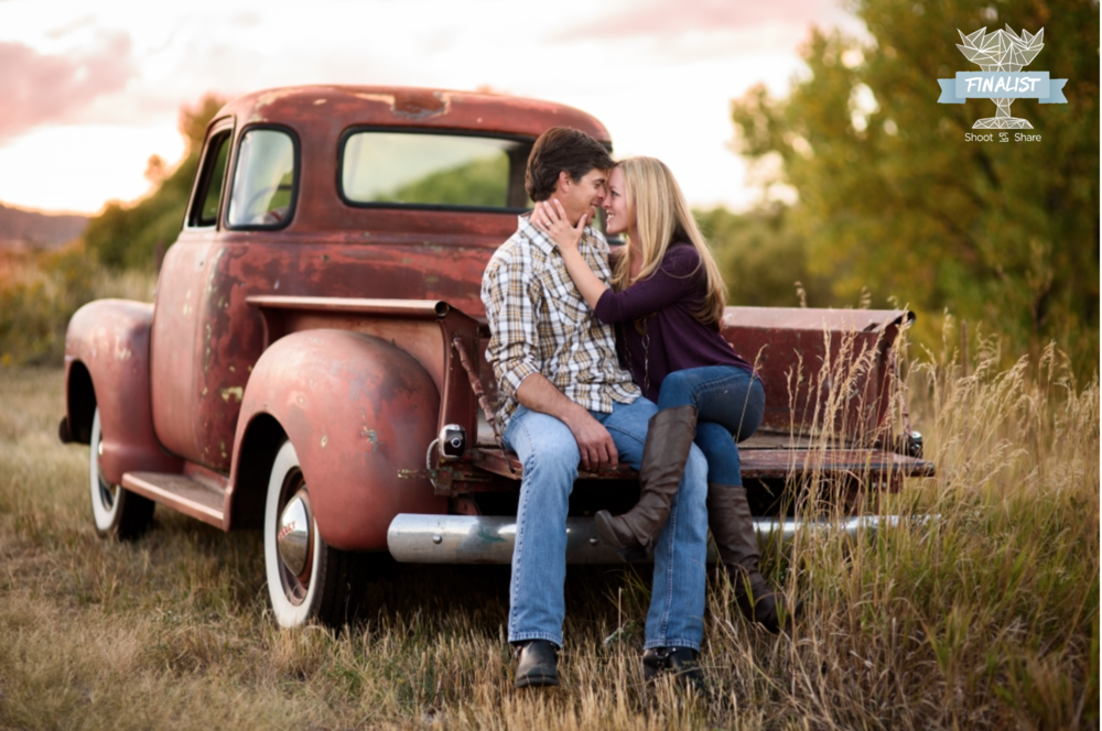 Vintage Engagement Session; Deer Creek Canyon, Colorado