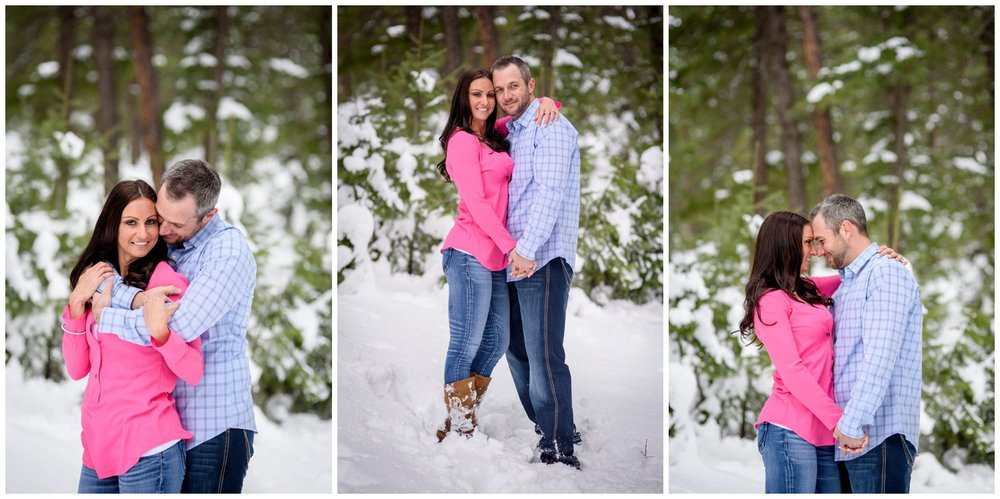 engagement photos of couple at Meadows at Marshdale