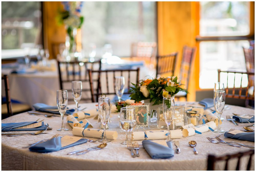 della terra wedding table decor