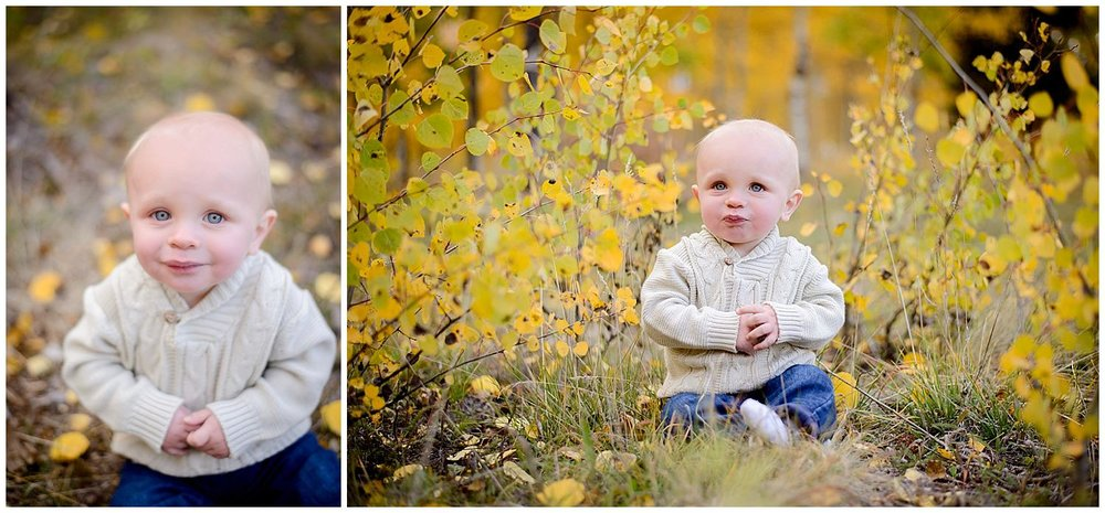 fall children photography Colorado