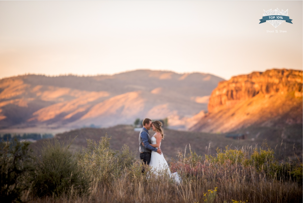 Ft. Collins Sunset Wedding - The Wedding Couple Category - 1,387/35,527