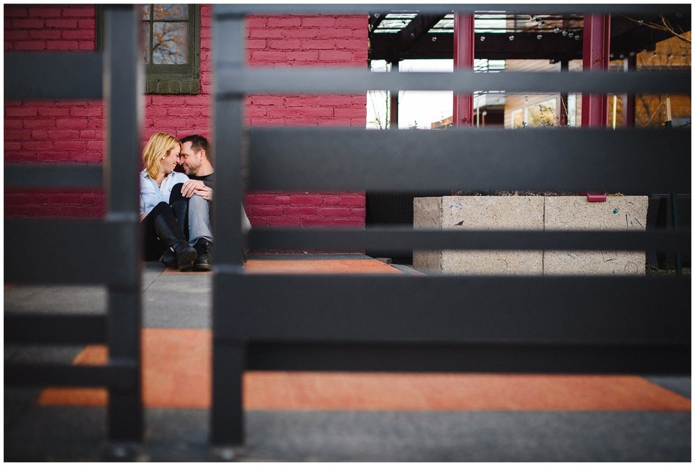 Tennyson street Denver Engagement photo