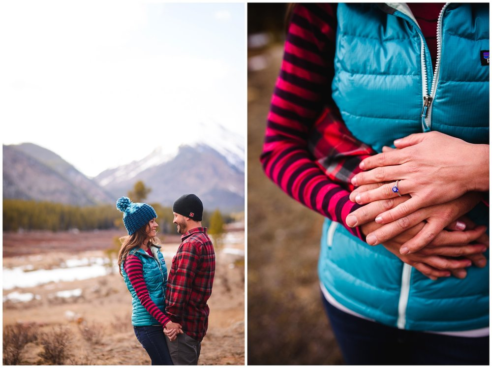 Guanella Pass Engagement photos