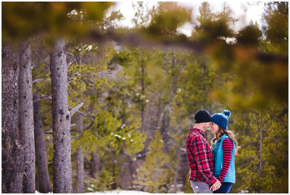 Guanella Pass engagement photography