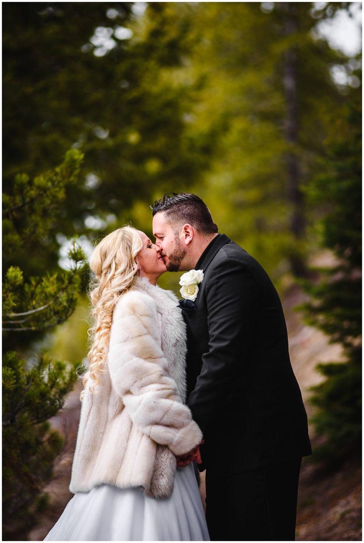 wedding photo near Sapphire Point Colorado