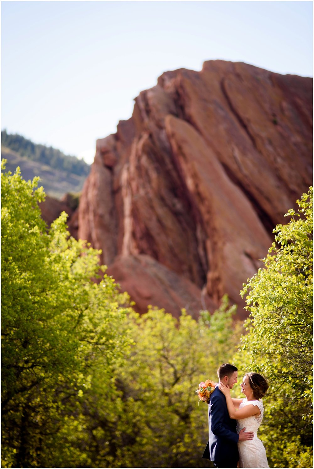 colorado mountain wedding photo