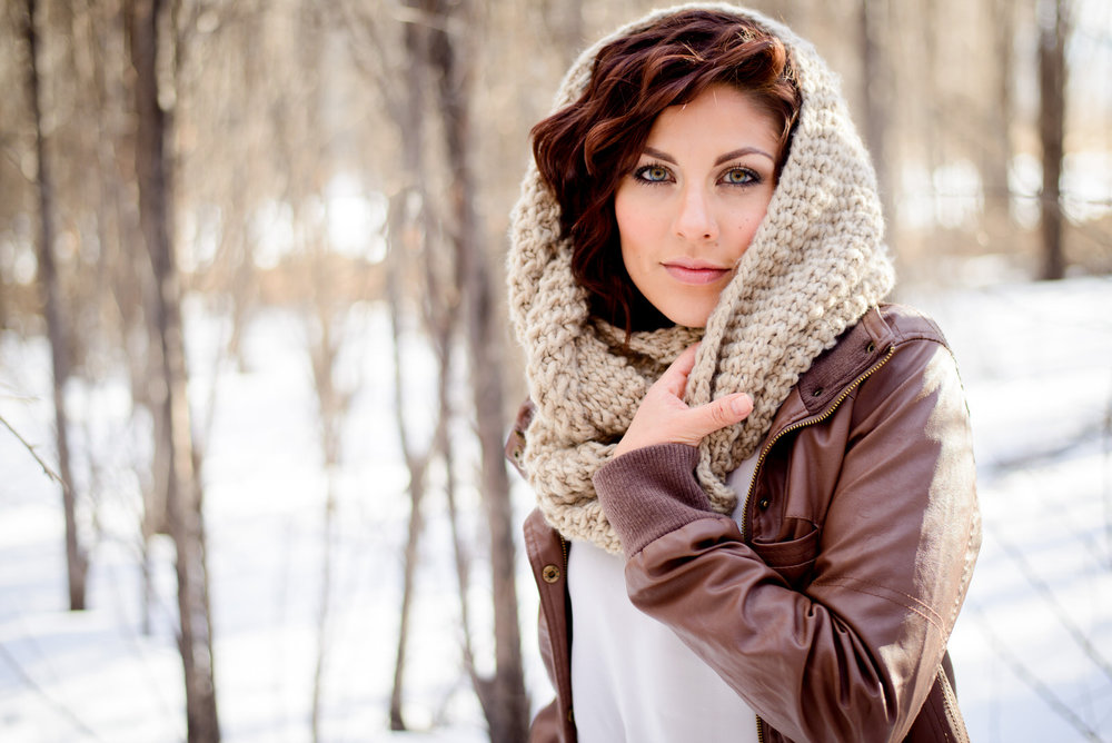 Winter Fashion Photo headshot