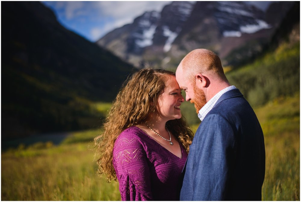 Colorado adventure engagement photo