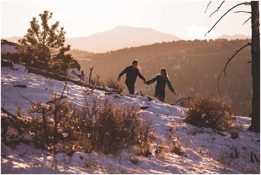 vibrant Colorado Mountain wedding and engagement photographer