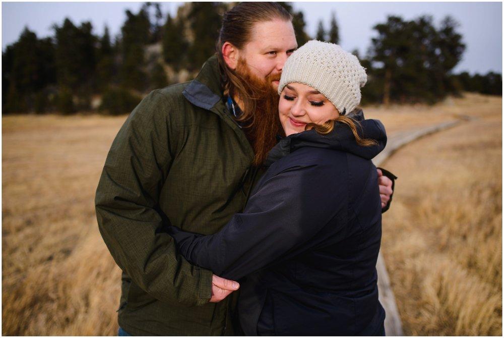 Alderfer/three sisters Park engagement photos
