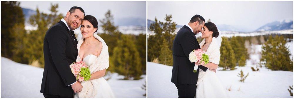 wedding photos in Silverthorne colorado