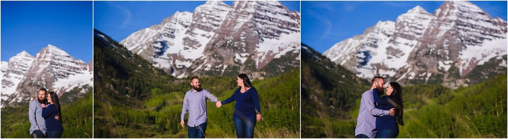 Maroon Bells engagement photos