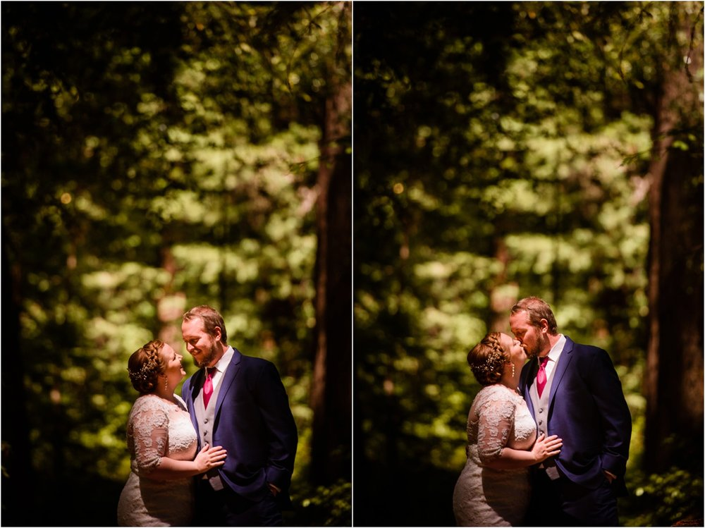 California Wedding Portraits in Redwood Forest
