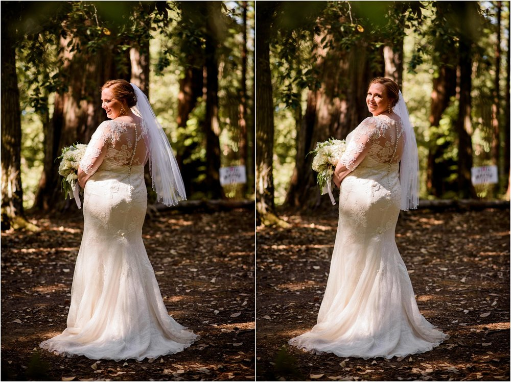 Lace Bridal dress portrait style
