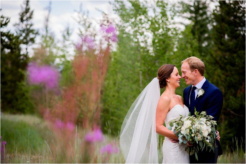 Bride and groom photos Colorado wedding
