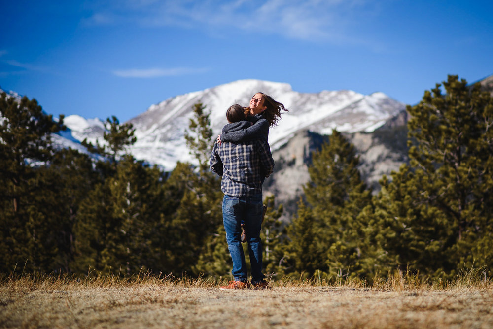 Copy of Rocky Mountain National Park Engagement photo
