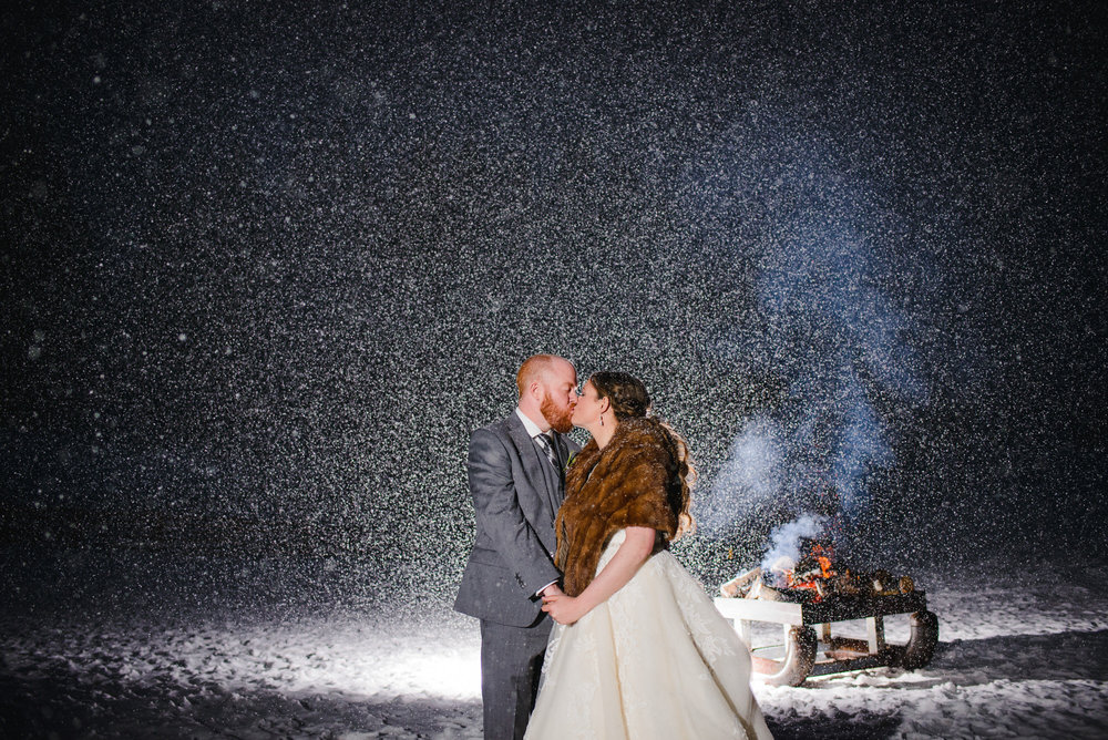 Copy of Aspen Colorado snowy Winter Wedding photo