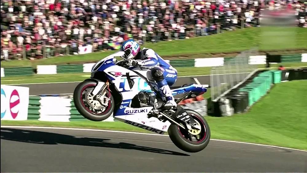 British Superbike 2013, the Cadwell Park jump