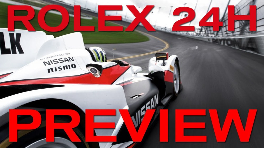 PREVIEW - ROLEX 24 AT DAYTONA
